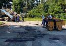 Започна закърпването на дупките по улиците в цялата община