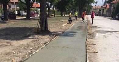 В Ново село се изгражда велоалея, инициативата е на кмета Иван Стойчев