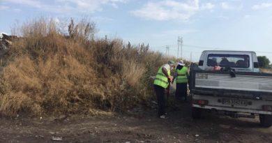 Разчистени бяха трупаните с години отпадъци между Ново село и Триводици